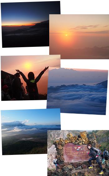 バトゥール山 日の出トレッキング|バリ島オプション