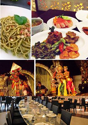 クマンギレストラン(Kemangi)|バリ舞踊を見ながら優雅にディナー