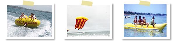マリン基本の3点セットバリコラール社(ヌサドゥア・タンジュンベノアの海で)