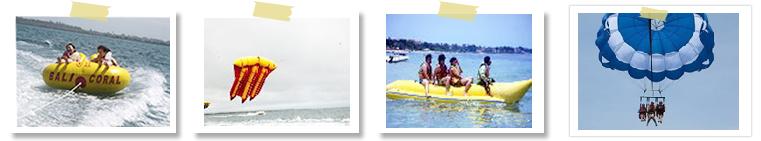 マリン基本の4点セットバリコラール社(ヌサドゥア・タンジュンベノアの海で)