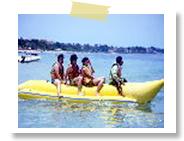 バナナボート|バリコラール社(ヌサドゥア・タンジュンベノアの海で)