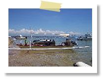 グラスボトムボート|バリコラール社(ヌサドゥア・タンジュンベノアの海で)