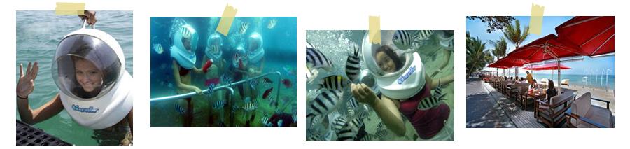 シーウォーカー Seawalker in Bali