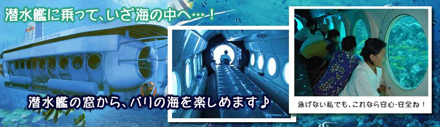 サブマリン(潜水艦)in バリ島