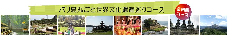 バリ島丸ごと世界文化遺産巡りコース