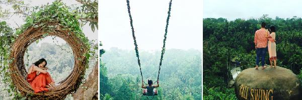 ブランコ満喫「Bali Swing」|アクティブウブド西コース