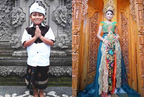 バリ民族衣装撮影|バリ芸術を感じるアート満載コース